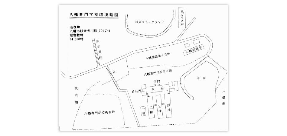 八幡専門学校環境略図