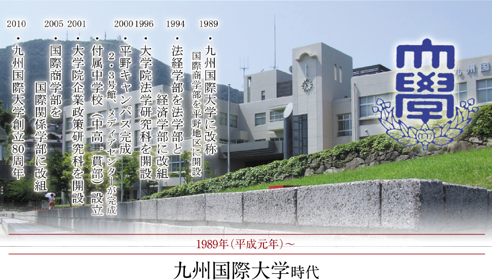 九州国際大学時代